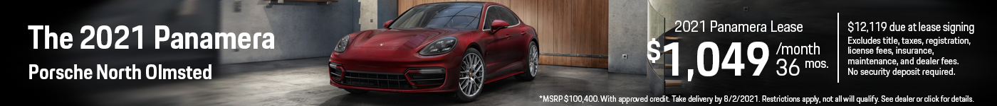 2021 Panamera Lease Offer