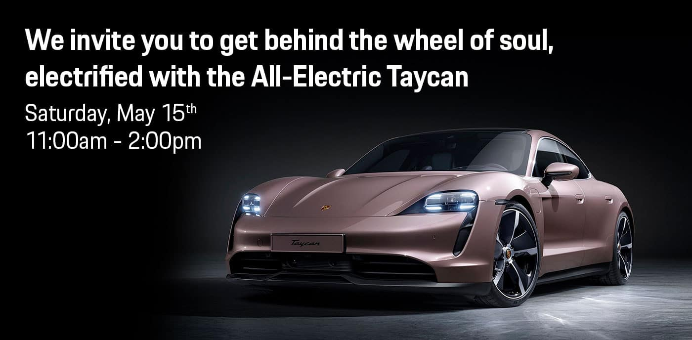 2021 Porsche Taycan Launch Event