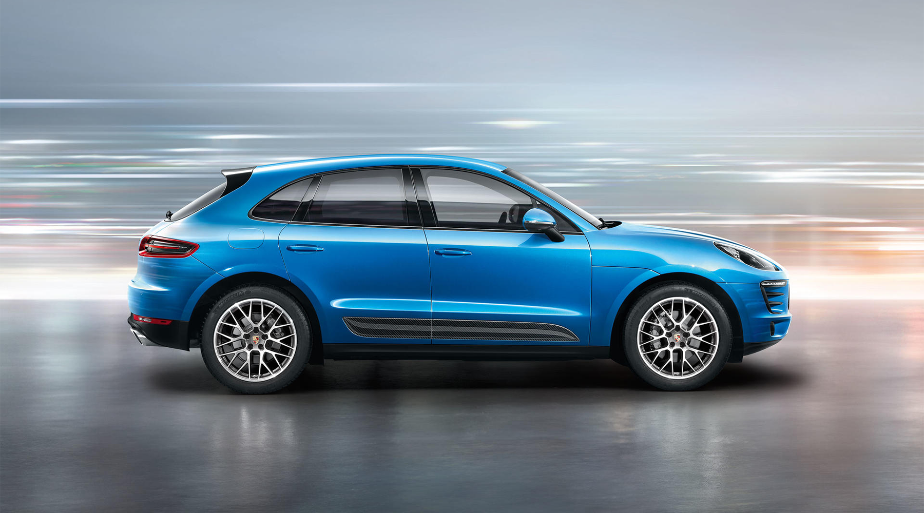 2018 Porsche Macan Side Profile