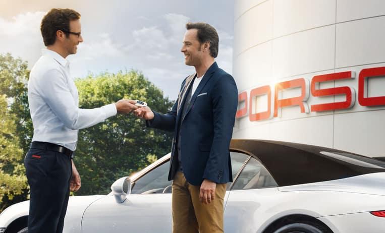 Porsche Sales Representative