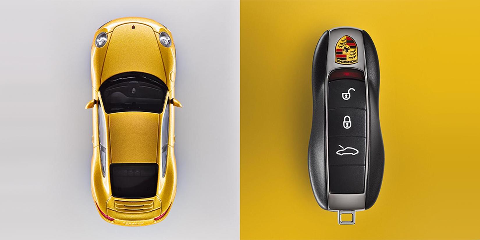 Porsche 991 Key Fob