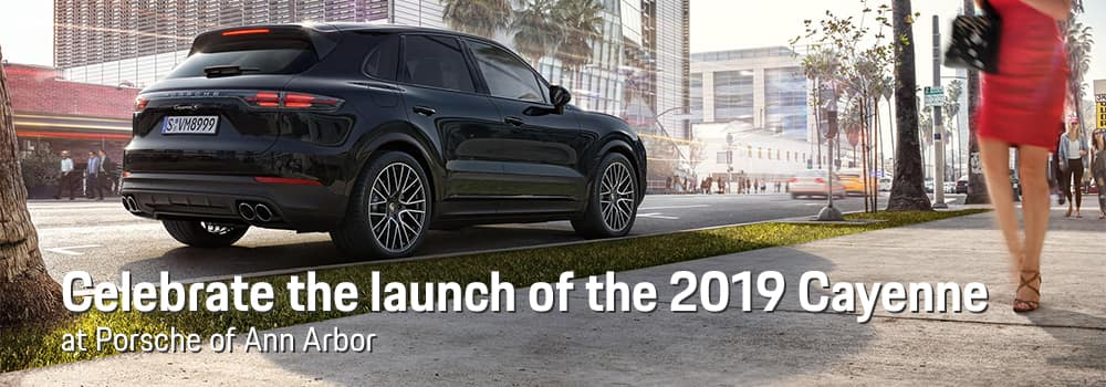 2019 Cayenne Launch Celebration at Porsche Ann Arbor