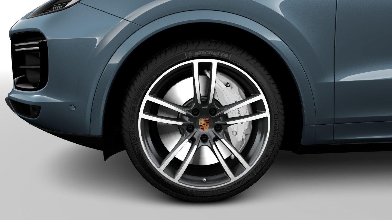 2019 Porsche Cayenne Turbo 21-Inch Wheels