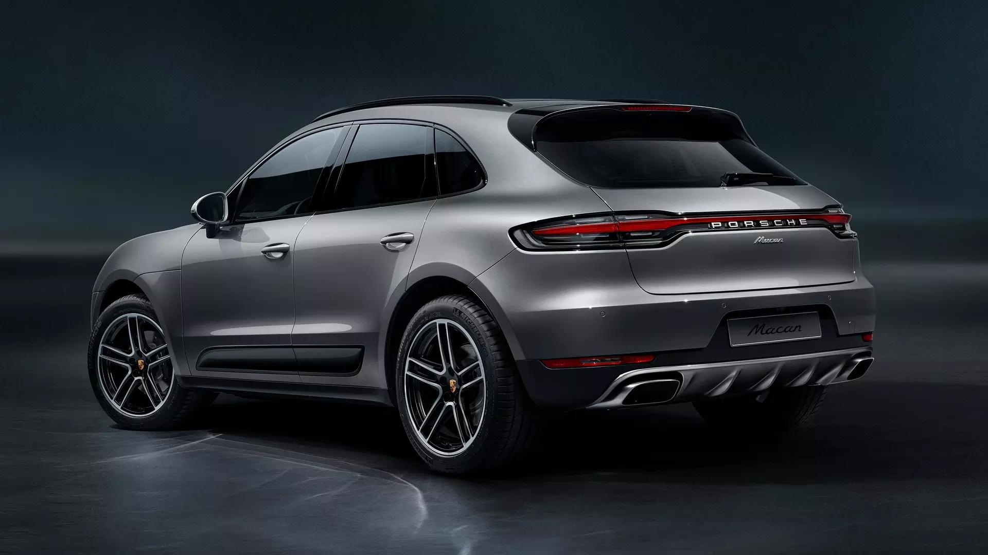 2019 Porsche Macan Rear Exterior