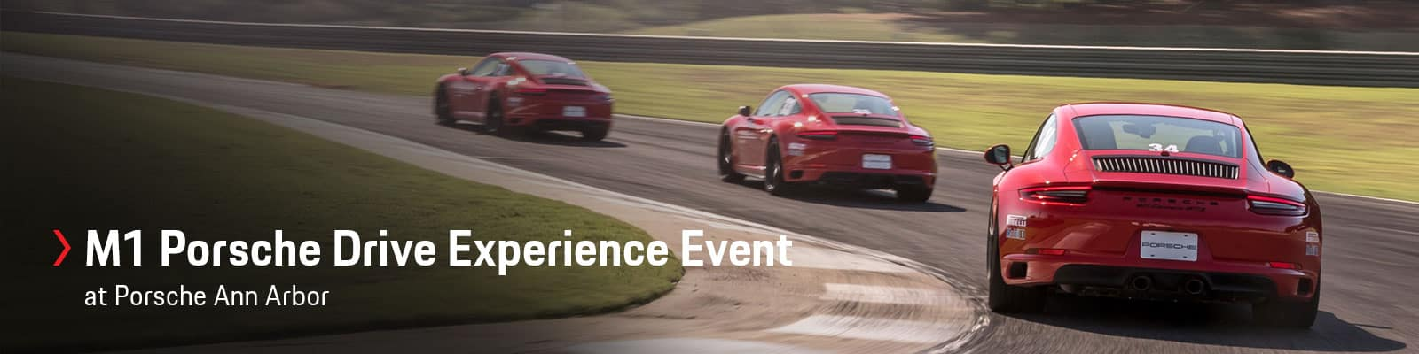 M1 Porsche Drive Experience Event at Germain Porsche of Ann Arbor