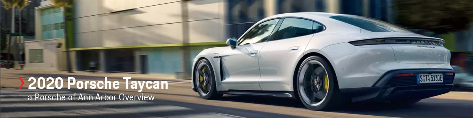 2020 Porsche Taycan Model Overview at Porsche of Ann Arbor
