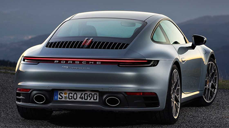 Porsche 911 992 Rear Styling