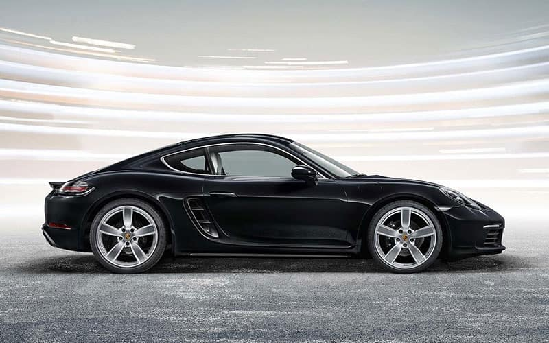 2019 Porsche 718 Cayman Side Profile