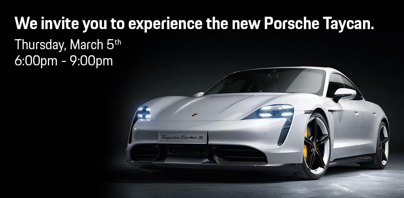 Celebrate at the Taycan Launch Event with Sewickley Porsche