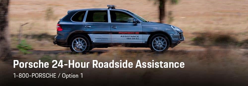24-Hour Porsche Roadside Assistance