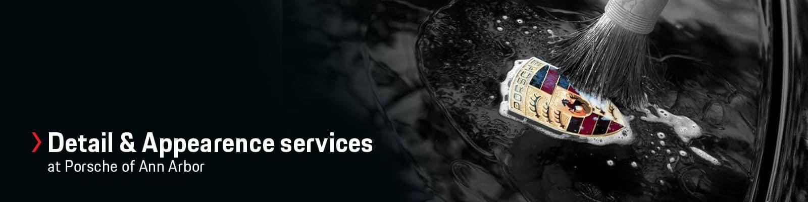Porsche Ann Arbor Detail Service Packages
