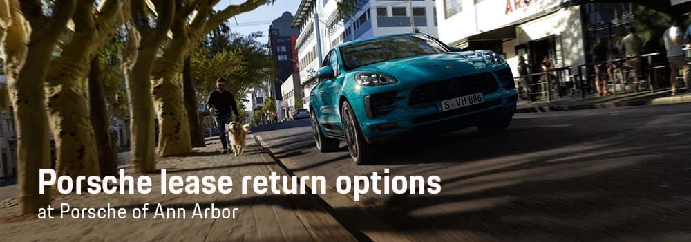 Porsche Lease Return Center in Ann Arbor, MI