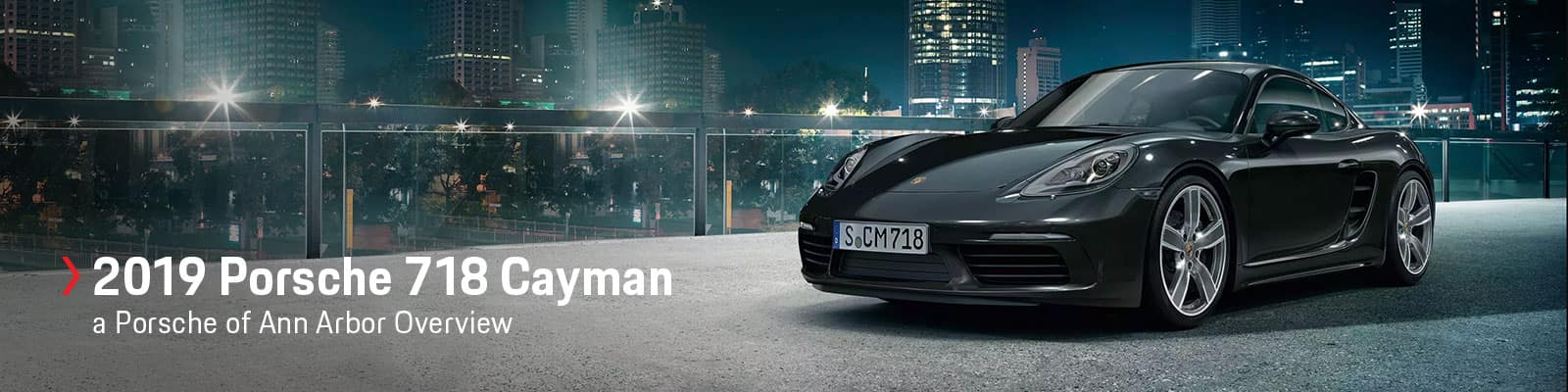 2019 Porsche 718 Cayman Model Review with Prices, Photos, & Specs at Porsche of Ann Arbor