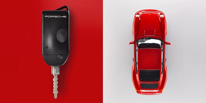 Porsche 993 Remote Key Fob