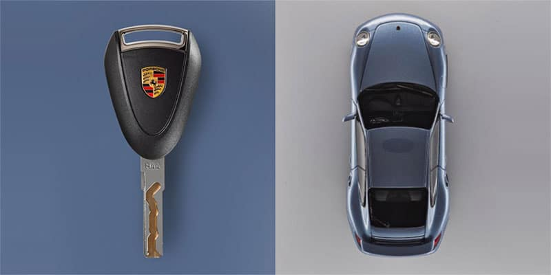 Porsche 997 Key Remote