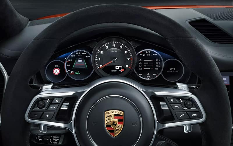 2020 Porsche Cayenne Coupe Technology