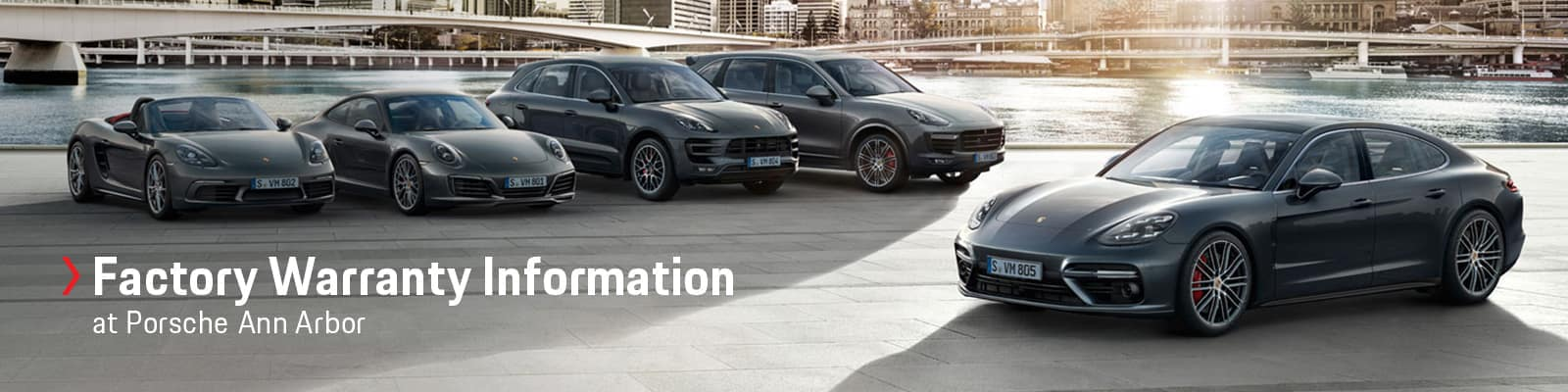 Porsche Factory Warranty Information