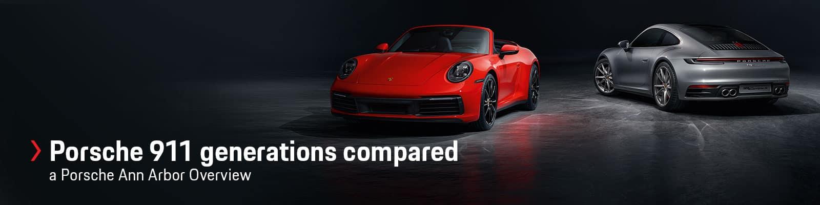 Porsche 911 Generations Compared at Sewickley Porsche