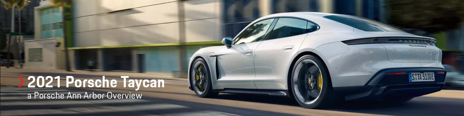 2021 Porsche Taycan Model Overview at Porsche Ann Arbor