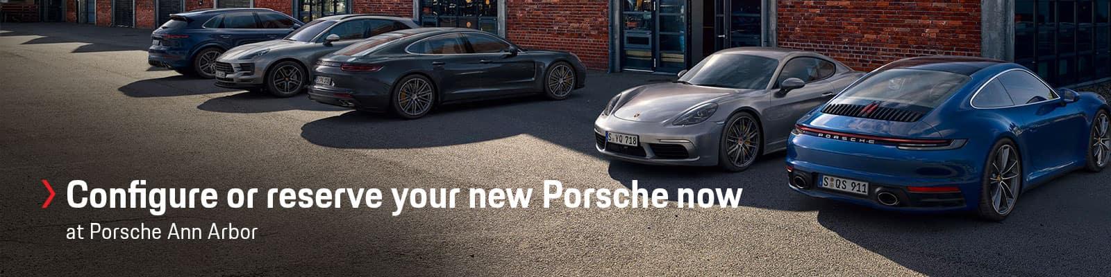 Custom Order Your Porsche at Porsche Louisville