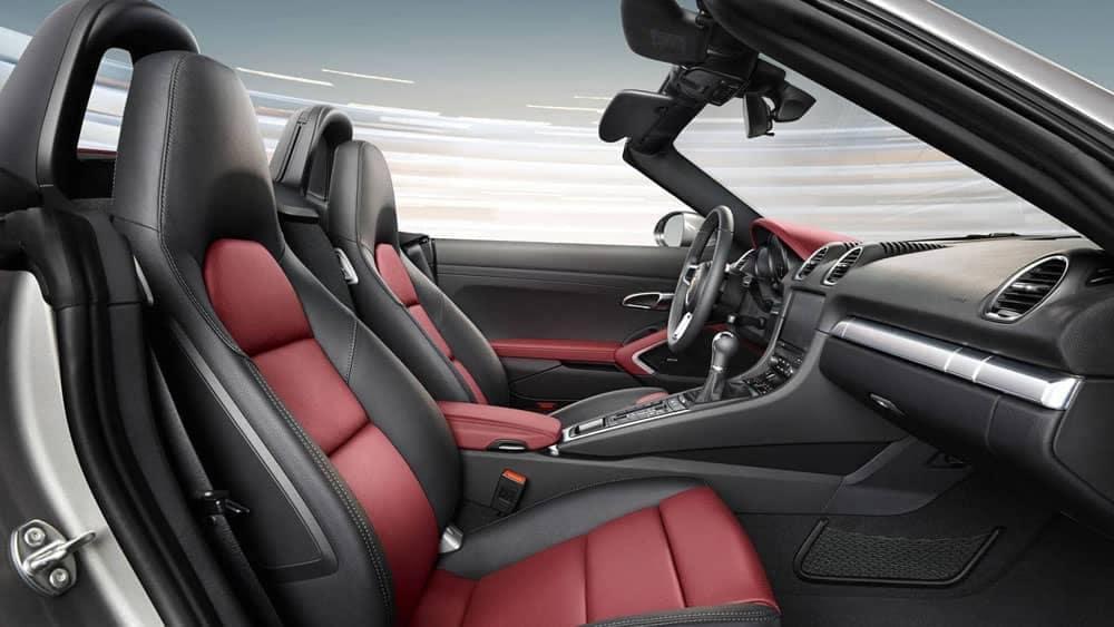 2019 Porsche 718 Boxster front interior