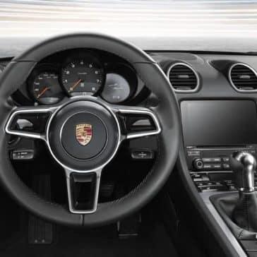 2019 Porsche 718 Boxster dashboard