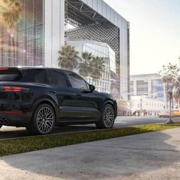2019 Porsche Cayenne rear view