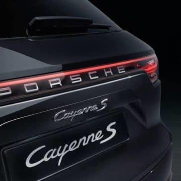 2019 Porsche Cayenne taillights
