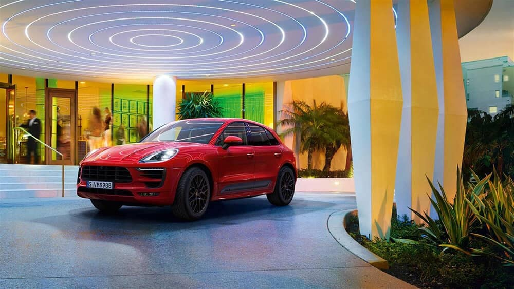 2019 Porsche Macan GTS in red