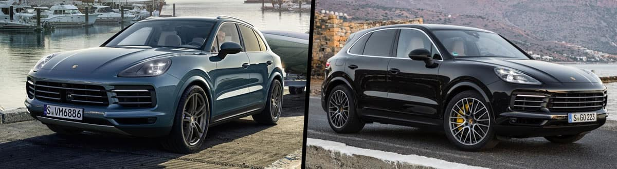 Compare 2019 vs 2018 Porsche Cayenne