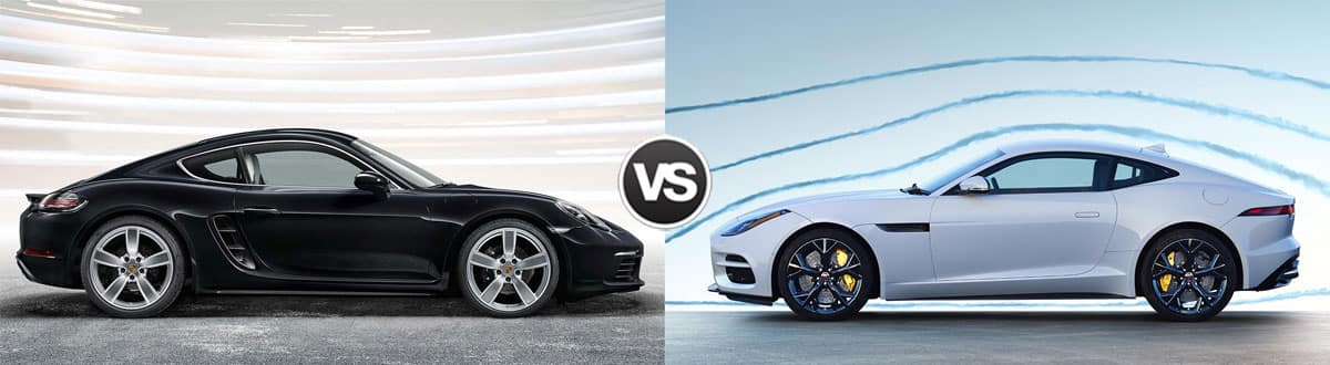 2019 Porsche Cayman vs 2019 Jaguar F-TYPE