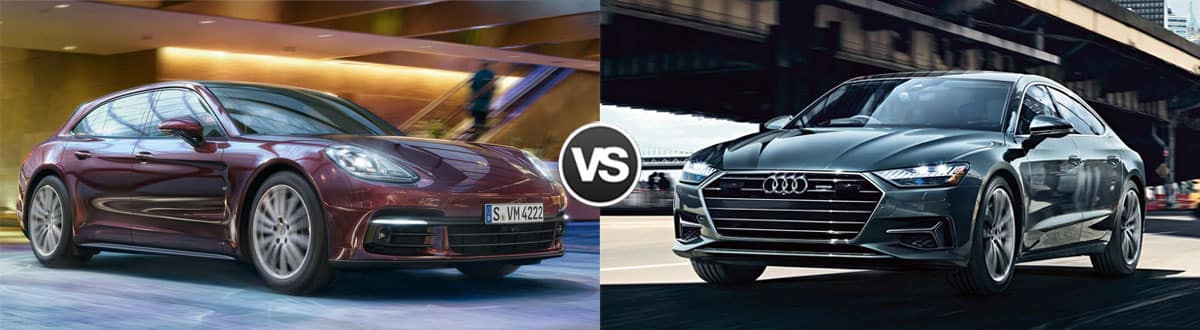 2019 Porsche Panamera vs 2019 Audi A7