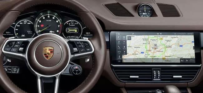2019 Porsche Cayenne Digital Instrument Cluster & 12-inch Touchscreen