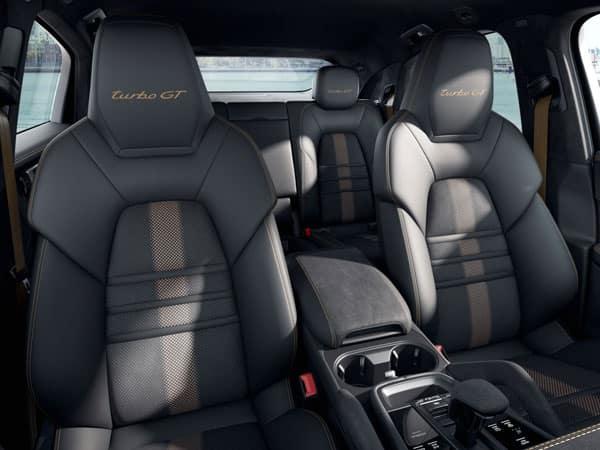 2022 Porsche Cayenne Turbo GT Interior