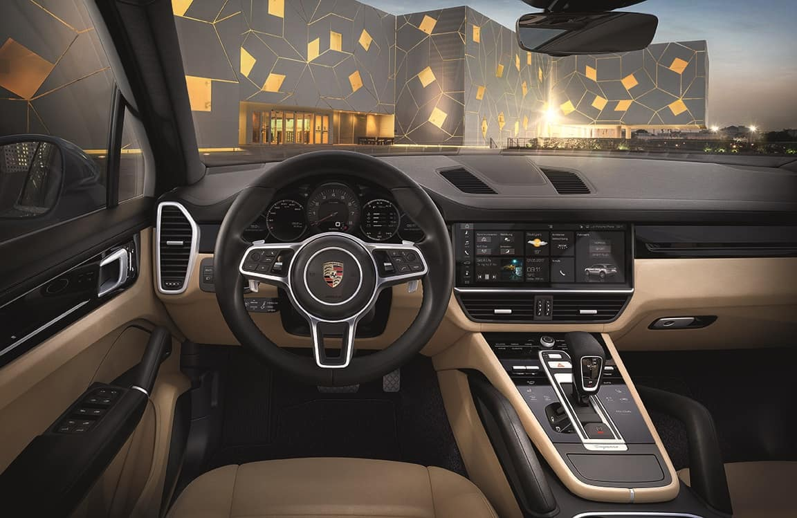 2019 Porsche Cayenne Interior Tech