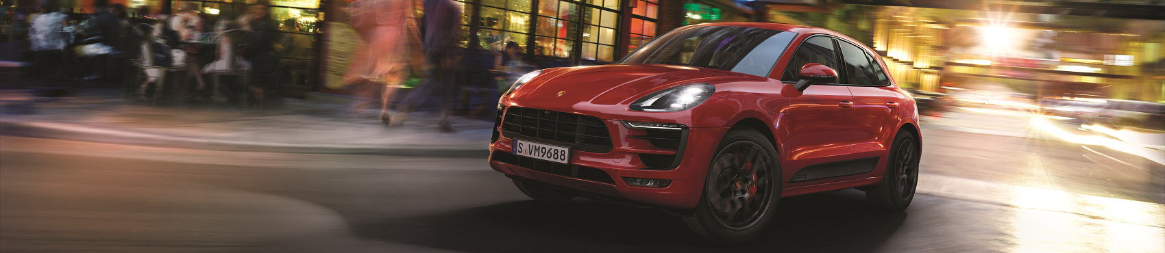 Porsche Macan GTS Red