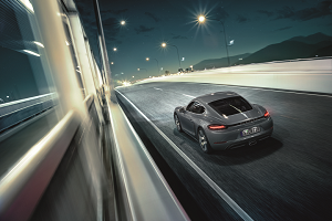 Porsche 718 Cayman Features