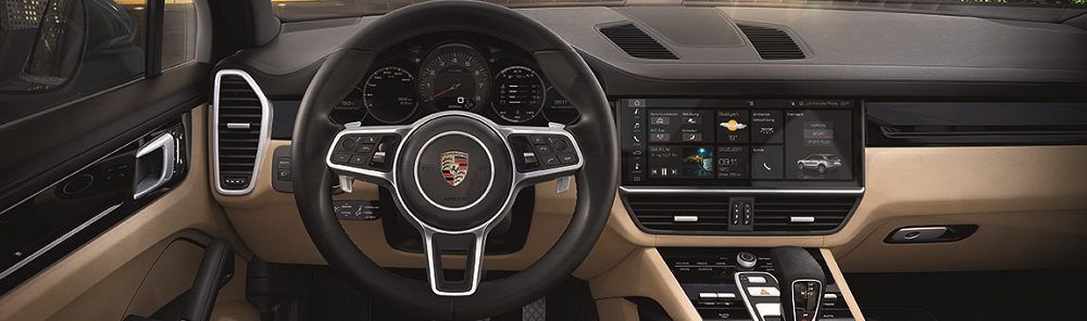 Porsche Cayenne Interior Technology