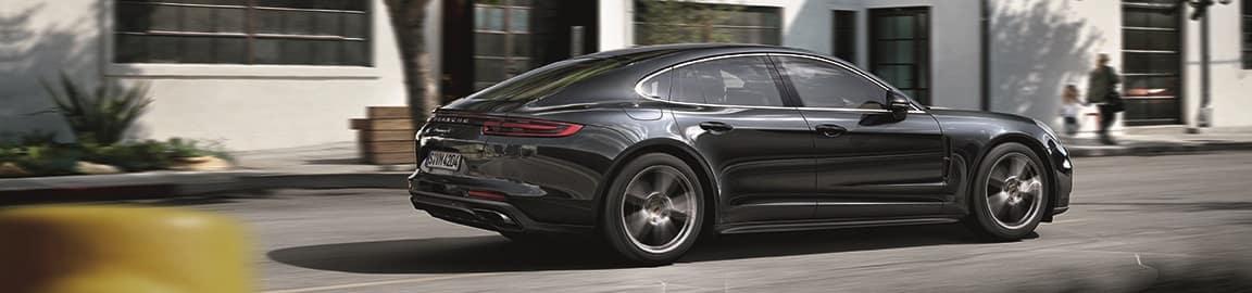 Porsche Panamera Driving