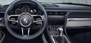 Porsche 911 Interior Technology