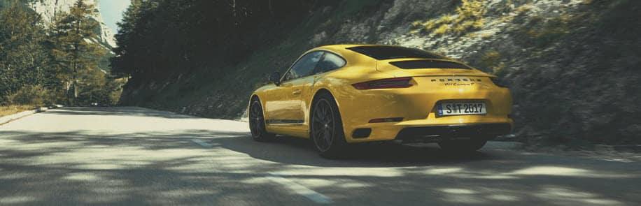 Porsche 911 Driving
