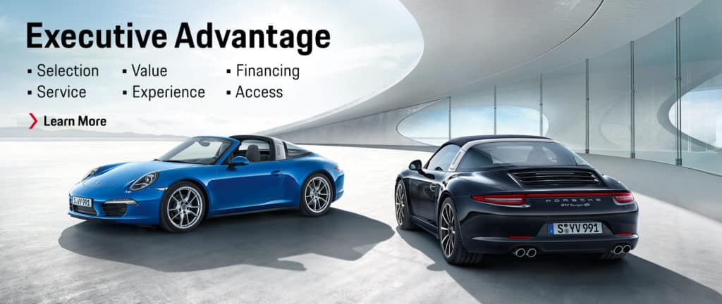 Porsche of Huntsville Executive Advantage