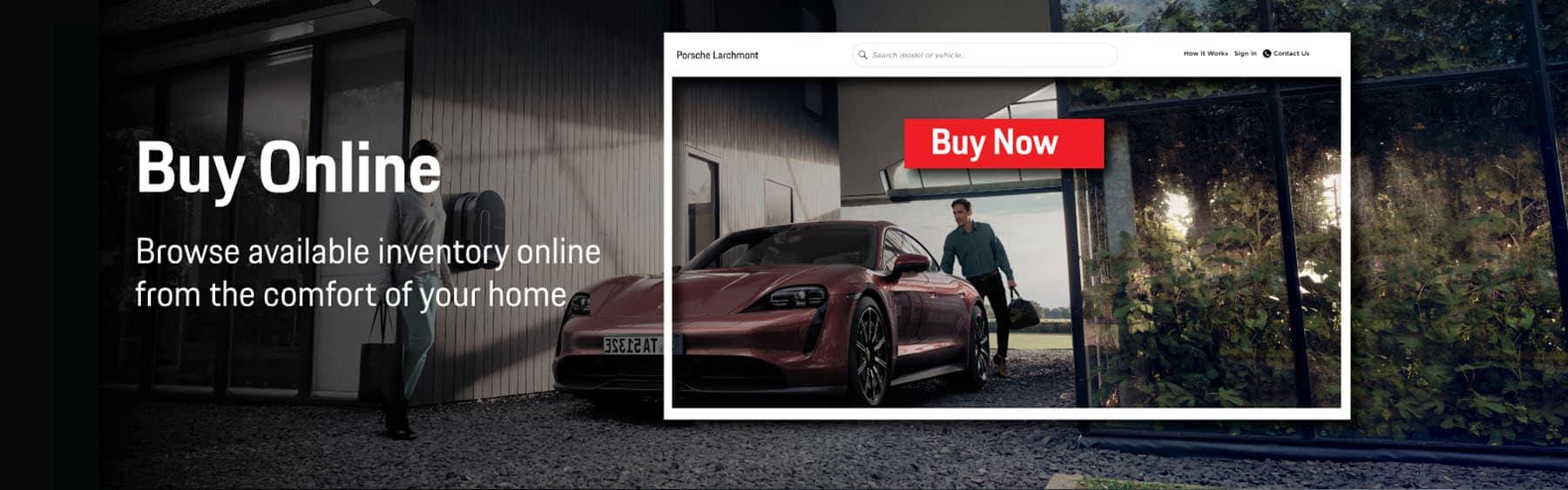 Porsche Lachmont express store banner