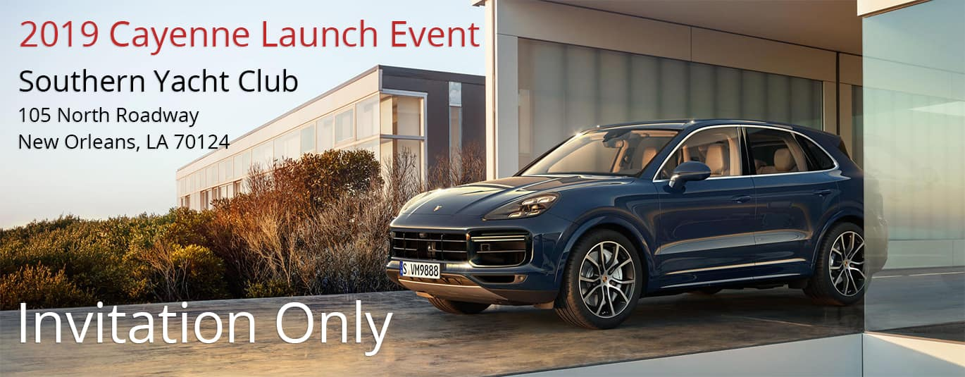 2019 Porsche Cayenne Launch Event
