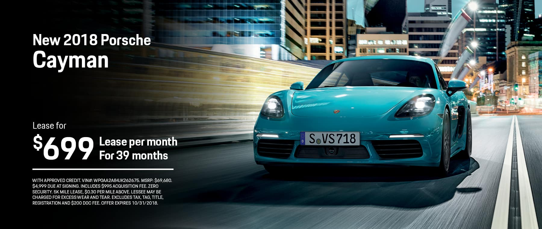 car doc metairie	  Porsche of New Orleans | New Porsche