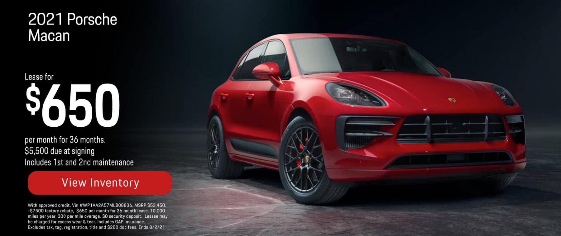 Porsche of New Orleans Macan