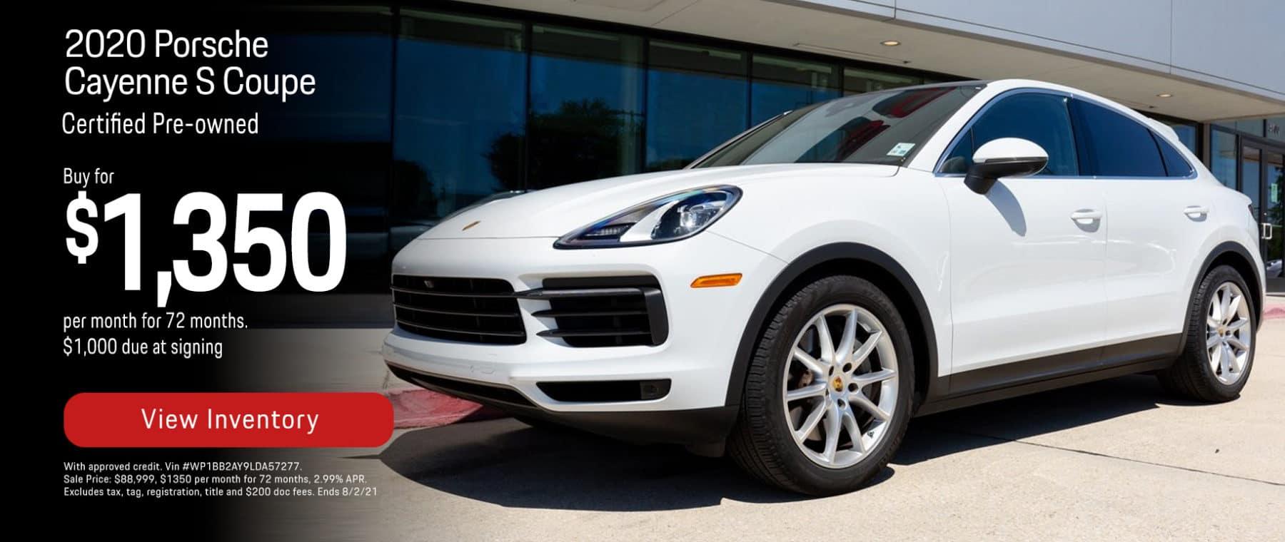 Porsche of New Orleans Cayenne