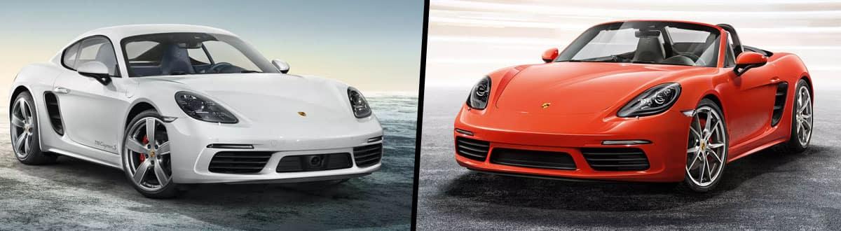 2019 Porsche 718 Cayman vs 2019 Porsche 718 Boxster
