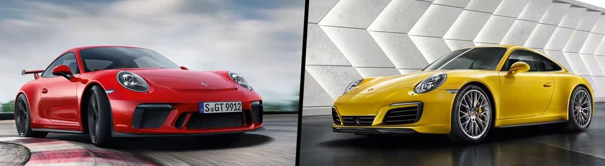 2019 Porsche 911 GT3 vs 2019 Porsche 911 Carrera