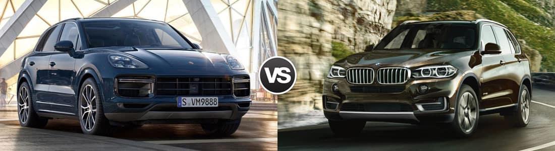 2018 Porsche Cayenne vs 2018 BMW X5
